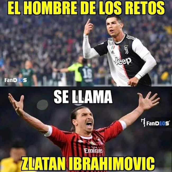 1094569 - Zlatan Ibrahimovic, El hombre de Los verdaderos retos