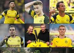 Enlace a El ataque del Dortmund desproporciona