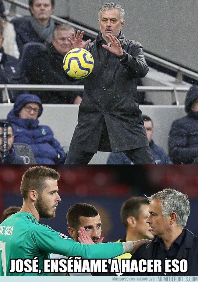 1094620 - Mourinho no acabó de enseñarle a De Gea todo lo que sabe
