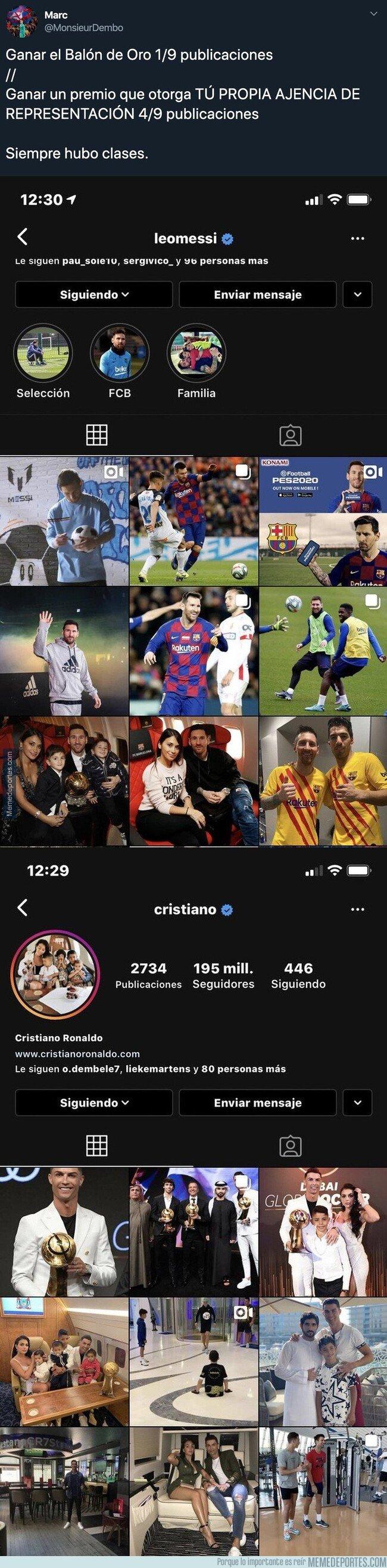 1094754 - La gran diferencia de Messi y Cristiano que demuestra la grandísima humildad del argentino