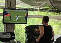 Enlace a Messi haciendo rewind