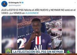 Enlace a Nuevo guiño de Neymar a su salida del PSG