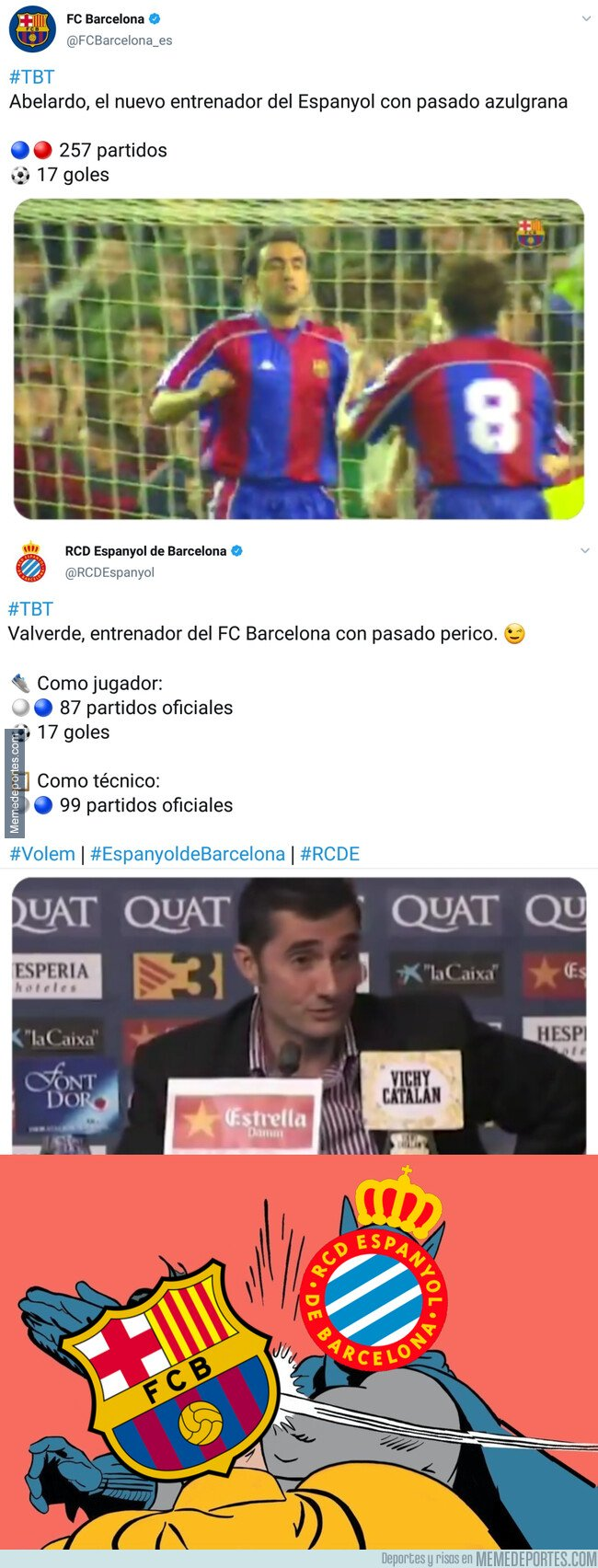 1094894 - La gran respuesta del Espanyol al Barça que comienza a calentar el derbi de esta semana