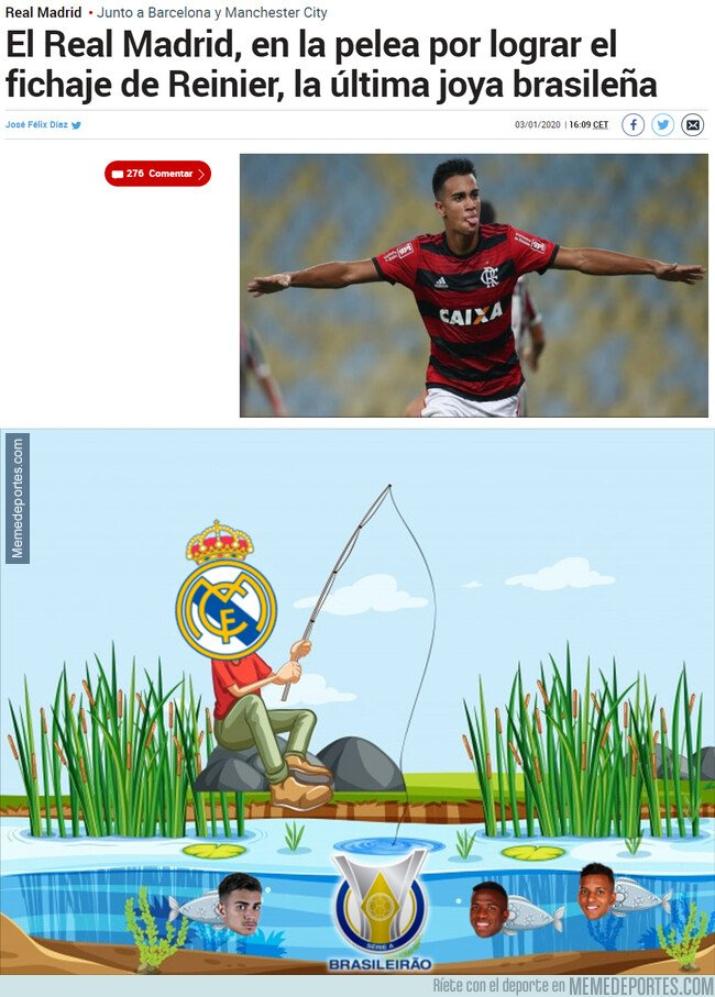 1094997 - El Madrid vuelve a pescar en Brasil