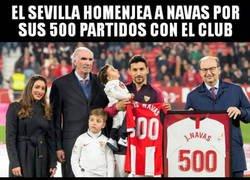Enlace a Gran detalle del Athletic Club con un histórico de nuestro fútbol como es Jesús Navas
