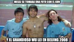 Enlace a Wu Lei y Messi se vuelven a encontrar