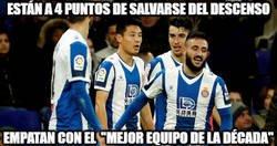 Enlace a El Espanyol a por no descender