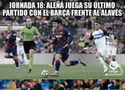 Enlace a Aleñá se enfrentó al Alavés dos jornadas consecutivas