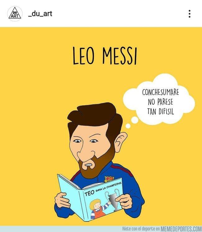 1095226 - Leo Messi empieza a leer