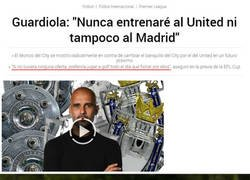 Enlace a Guardiola y Bale comparten hobby