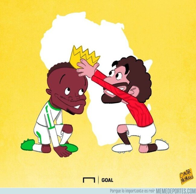 1095255 - Mané se corona como jugador africano del año, por @goalglobal