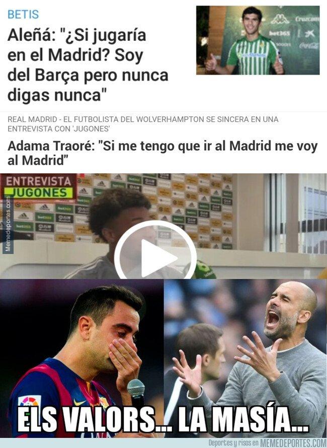 1095329 - Los canteranos de hoy en día ya no solo sueñan con jugar en el Barça