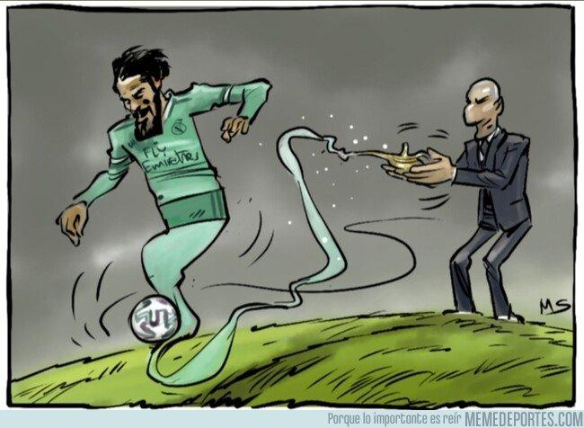 1095335 - Zidane ha sabido recuperar al genio de Isco, por @yesnocse