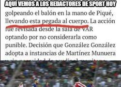 Enlace a A estos los de el Diario Sport son un poquito ventajistas...