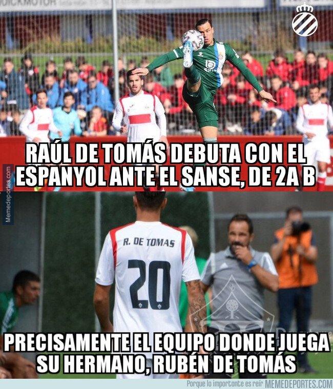 1095575 - Casualidades de la vida en el debut de RDT con el Espanyol