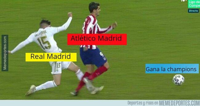 1095679 - El Real Madrid ganando trofeos contra el Atlético desde tiempos inmemoriales