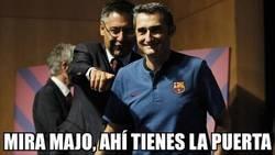 Enlace a Así fue la última reunión entre Valverde y Bartomeu