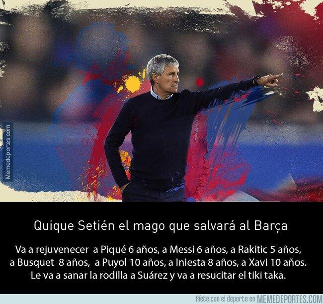 1095797 - Ya ha llegado el mago que salvará al Barça