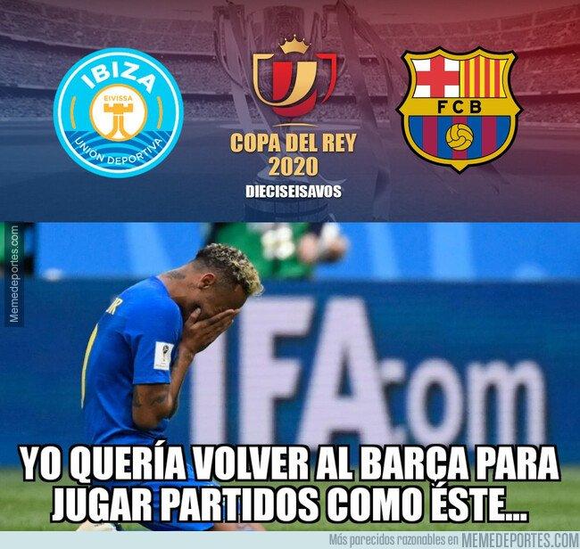 1095871 - Neymar quería volver al Barça para pasar por Ibiza