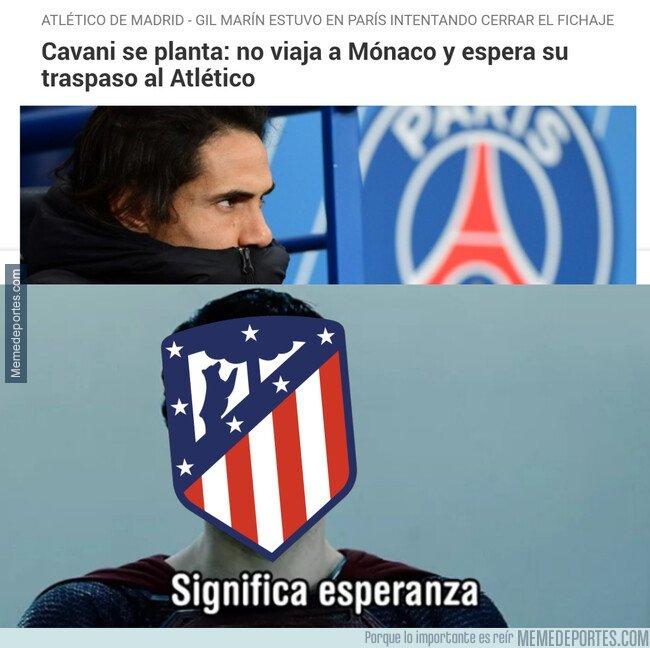 1095879 - Cavani todavía es posible para el Atlético