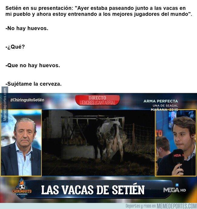 1095881 - El Chiringuito entrevistando a las vacas de Setién
