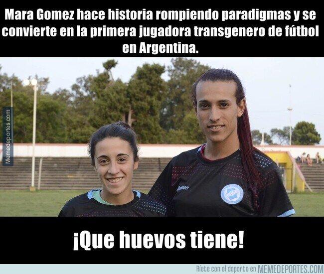 1095922 - La primera jugadora transgenero de fútbol en Argentina