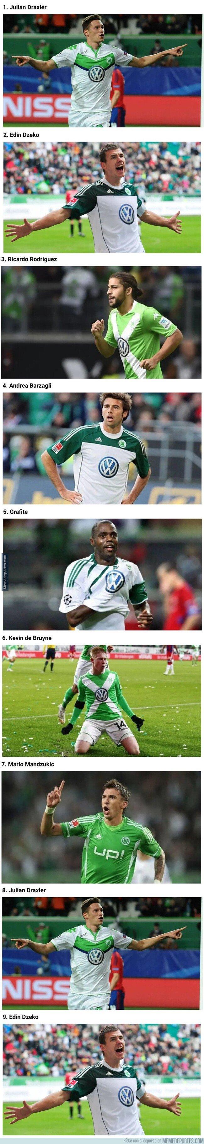 1095935 - Los mejores futbolistas que pasaron por Wolfsburgo y no lo recordabas