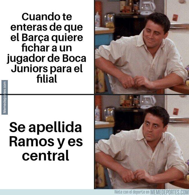 1096002 - No puedo esperar para ver a Ramos en la zaga defensiva del Barça B