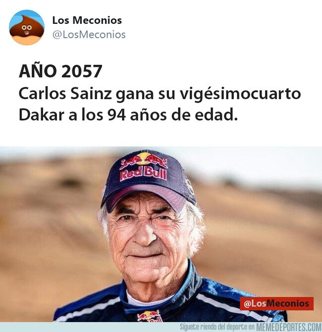 1096007 - Año 2057. Carlos Sainz gana el Dakar a los 94 años