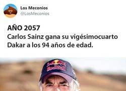 Enlace a Año 2057. Carlos Sainz gana el Dakar a los 94 años