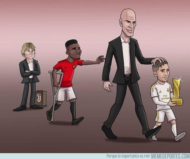 1096030 - Zidane ya se ha olvidado de Pogba, por @zezocartoons