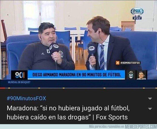 1096135 - Maradona se sincera ante las cámaras