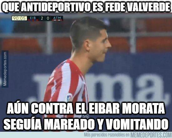 1096145 - Y Morata aún padece los efectos de Valverde