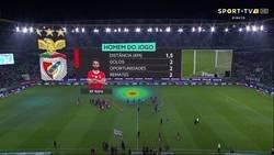 Enlace a A Rafa Silva se le cayó el marcador GPS en mitad del partido. Esto es el resultado: