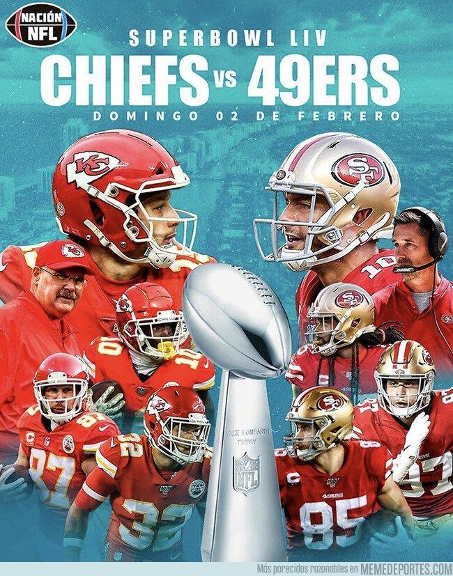 1096287 - Los Kansas City Chiefs y Los San Francisco 49ers se verán las caras en Miami está Super Bowl XLIV