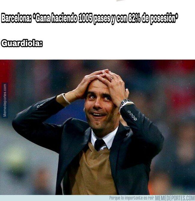 1096388 - A Guardiola se le puso dura con el partido del Barça de Setién