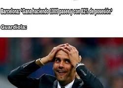 Enlace a A Guardiola se le puso dura con el partido del Barça de Setién