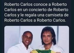 Enlace a Roberto Carlos-ception