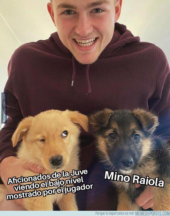 1096413 - Estos perros muestran a la perfección la actual situación de De Ligt en la Juve