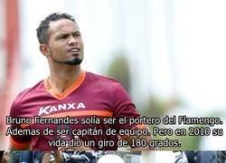 Enlace a La historia de Bruno Fernandes. El portero que asesinó cruelmente a su ex-esposa y juega al fútbol como si nada.