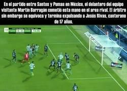 Enlace a Indignación en México por un jugador que dejó que expulsaran a un compañero por su culpa