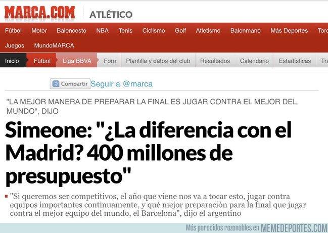 1096613 - EL PRESUPUESTO (2,75M€ vs 350M€)
