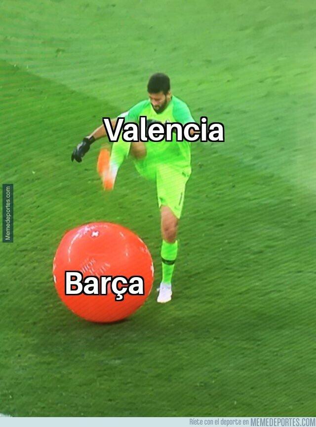 1096762 - Descripción gráfica del Valencia-Barça
