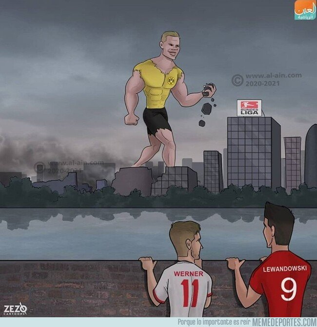 1096840 - Un gigante ha llegado a la Bundesliga, por @zezocartoons