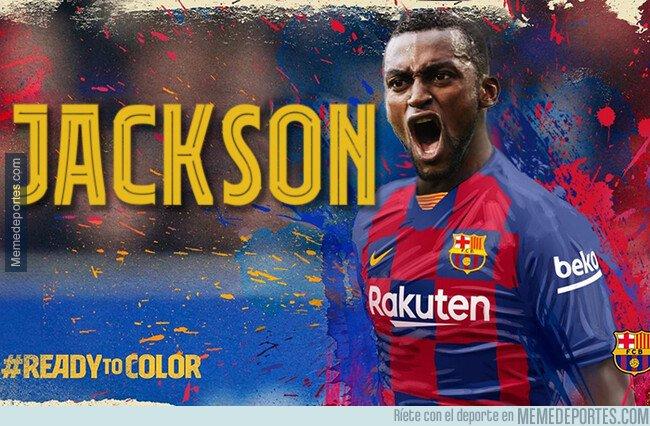 1097011 - Se acabaron los rumores. El Barça acaba de hacer oficial a su nuevo 9.