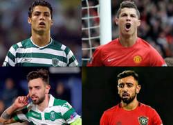 Enlace a Bruno Fernandes sigue los pasos de Cristiano Ronaldo