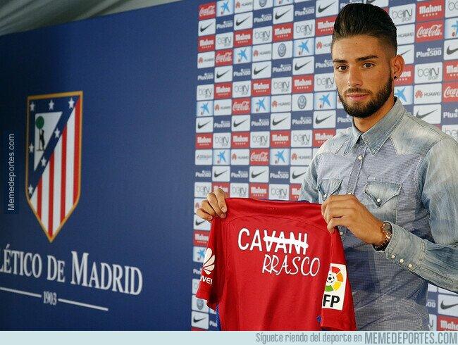 1097210 - El Atlético presentando a Carrasco