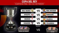 Enlace a Listos los cuartos de final de la Copa del Rey