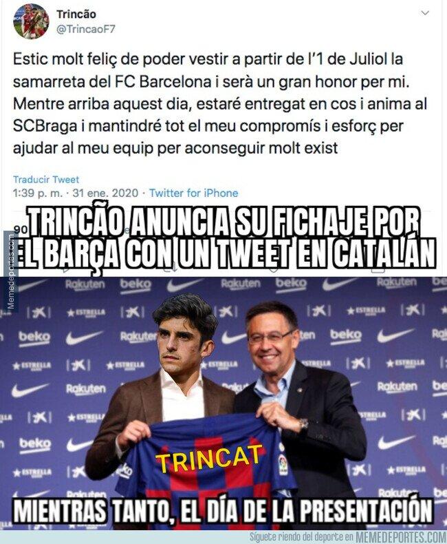 1097250 - Francisco Trincão pasará a ser Francesc Trincat