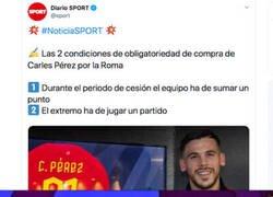 Enlace a Se nota que el Barça quiere recuperar al jugador